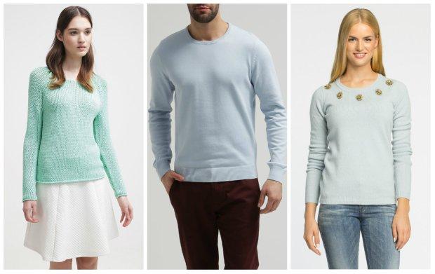 616615ecbe91b2 Pastelowe swetry dla Niej i dla Niego