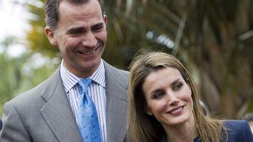 Książę Filip i Letizia Ortis