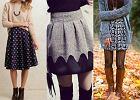 Wzorzysta spódnica w trzech stylizacjach