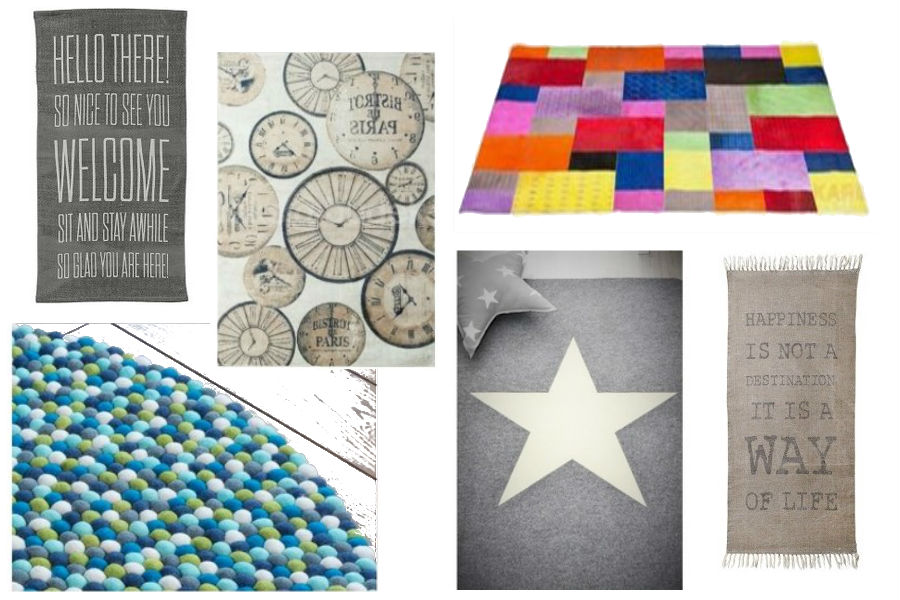 Najmodniejsze kolorowe dywany
