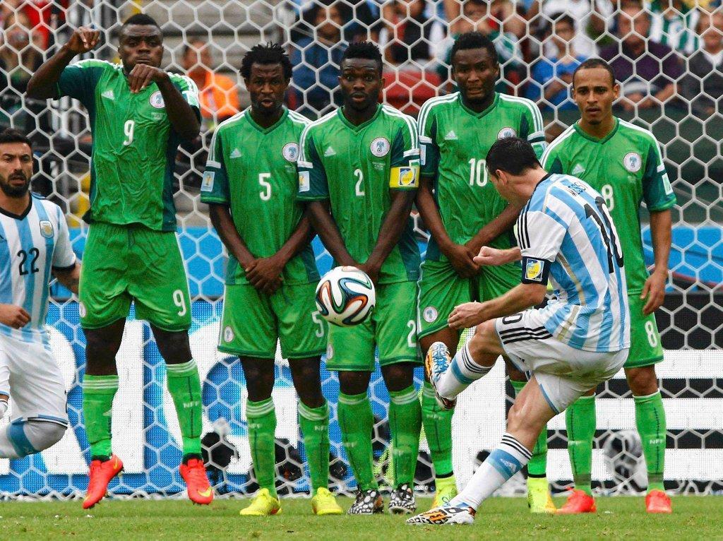Nigeria - Argentyna 2:3