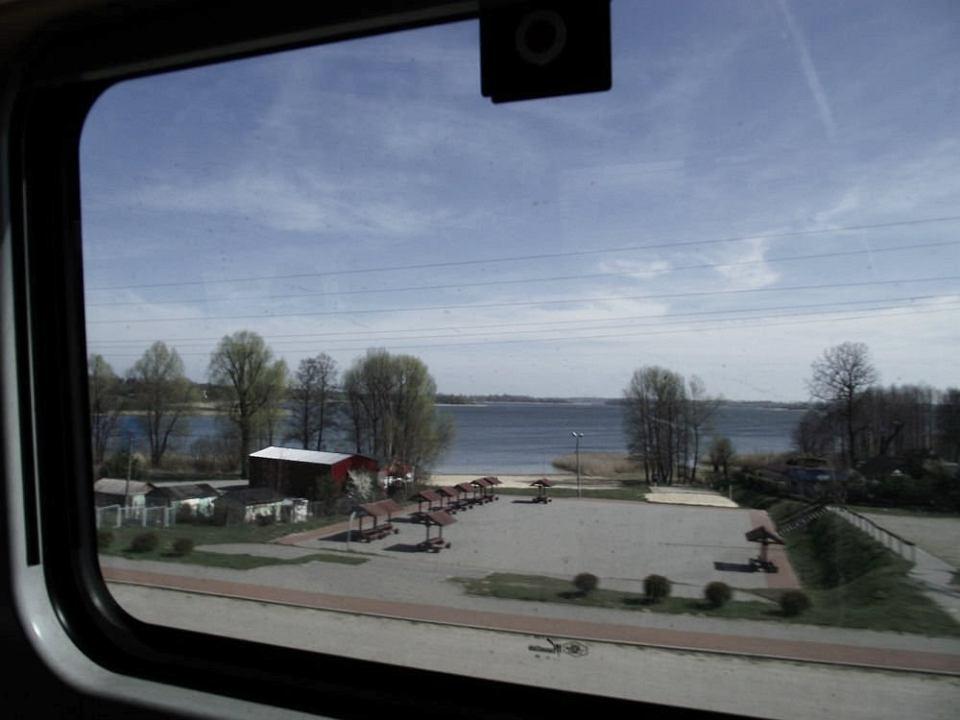 Widok z okna Pendolino