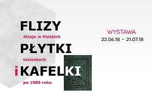 Płytki, flizy czy kafelki? Niecodzienna wystawa o polskim designie łazienkowym