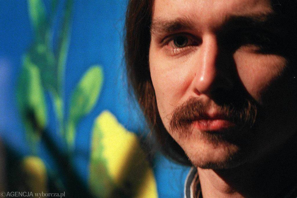 Grzegorz Jarzyna w 1996 roku / Fot. Sławomir Kamiński / Agencja Gazeta