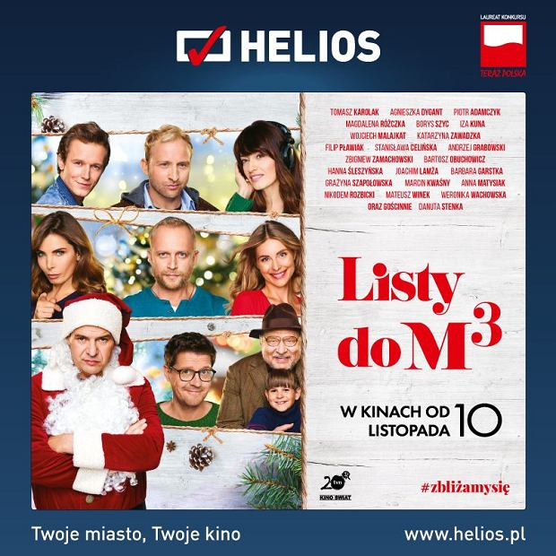 Plakat filmu 'Listy do M 3'