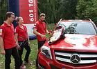 Mercedes wsp�pracuje z GOPR