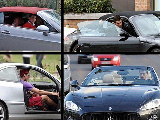 Ronaldo lubi szybkie samochody