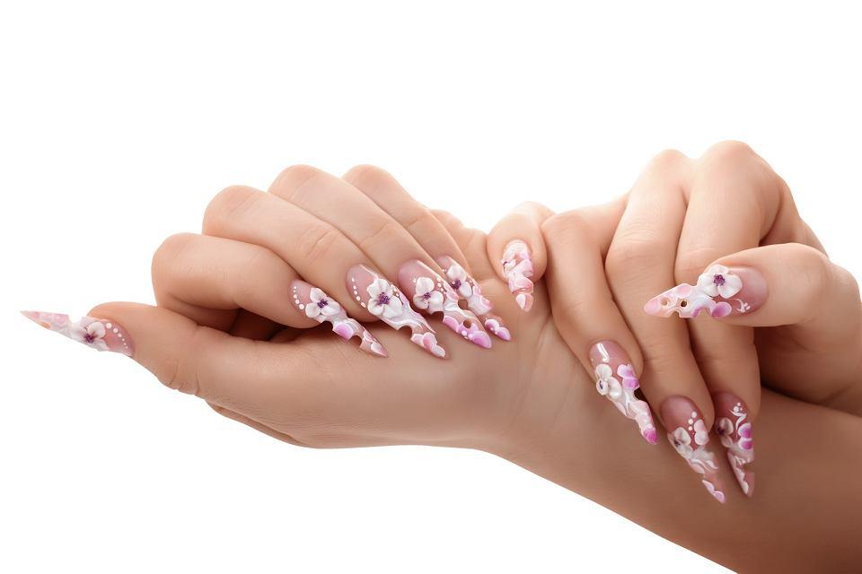 Manicure wiosenny