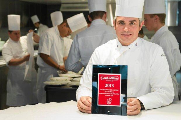 Benoit Violier - utytu�owany szef kuchni