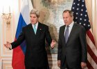 John Kerry i Siergiej �awrow