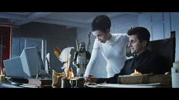 """""""Twardowsky 2.0"""", reż. Tomasz Bagiński. Aleksandra Kasprzyk jako Lucyna (Lucyfer) i Tomasz Drabek jako Boruta"""