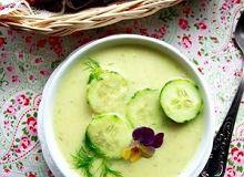 Zupa ze świeżego ogórka i koperku - ugotuj