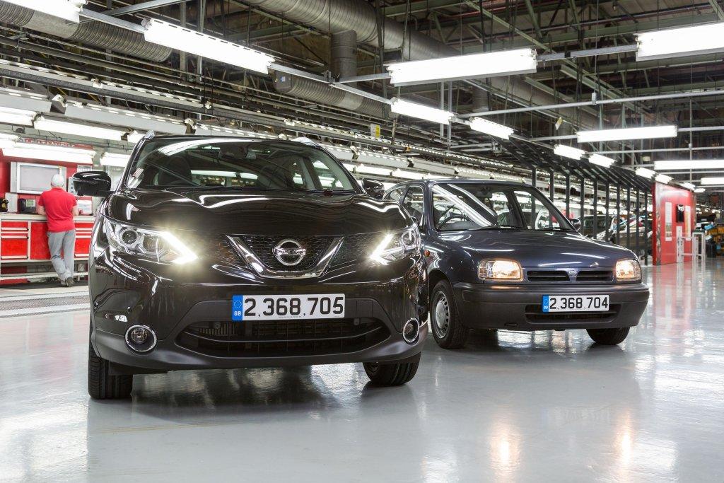 Nissan Qashqai najliczniej produkowanym w Europie autem Nissana