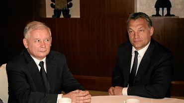 Jarosław Kaczyński i Viktor Orban
