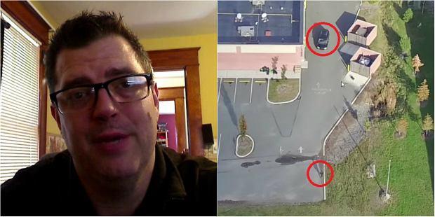 Mąż przeczuwał, że zdradza go żona. Co zrobił? Kupił drona i śledził ją z powietrza