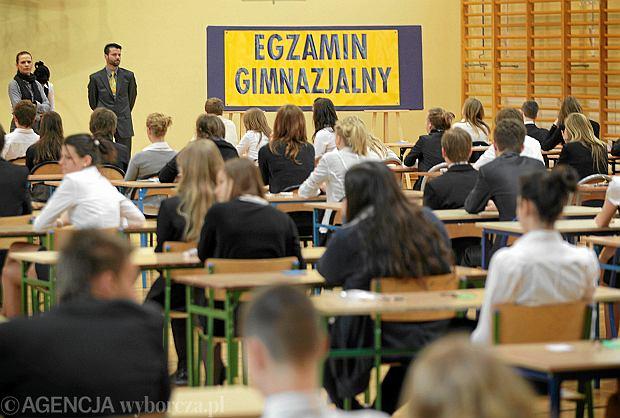 Tak wygl�da� egzamin gimnazjalny w 2012 r. w Szczecinie. Czy w tym roku b�dzie trudniejszy?