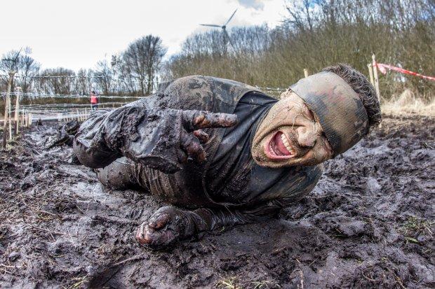 2016.03.19  Gniewino Zawody MudMax ekstremalny bieg z przeszkodami fot.Darek Nowak / DFOTOSPORT