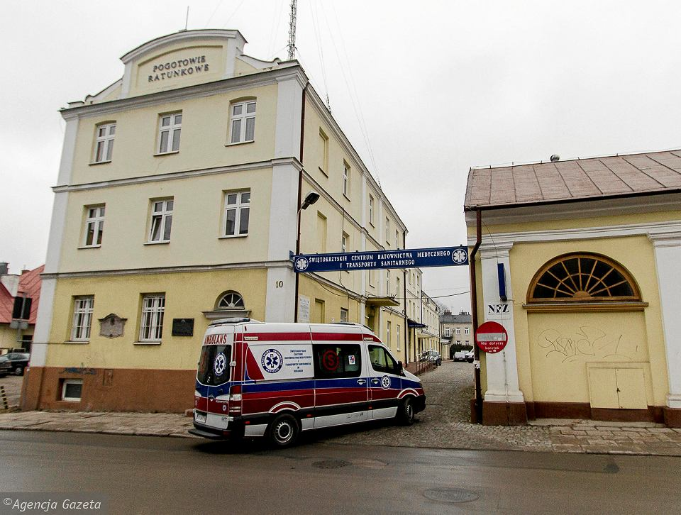 Siedziba pogotowia ratunkowego przy ul. św. Leonarda w Kielcach