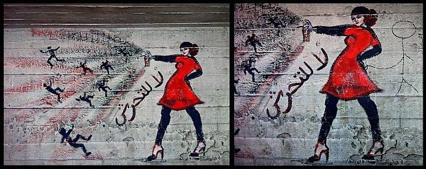 Jeste� kobiet� w Egipcie? Nie wchod� w t�um