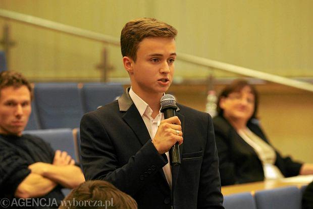 Licealista: Bez młodych ludzi miasto umrze [ROZMOWA]