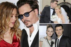 Gwiazdy burzliwie kochają i burzliwie się rozwodzą. Często wielka miłość spektakularnie i szybko się kończy, ale to nie Johnny Depp jest tutaj rekordzistą. Zobaczcie, jakie były najkrótsze małżeństwa gwiazd.