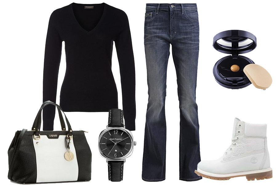 Ciepłe swetry i modne jeansy taniej