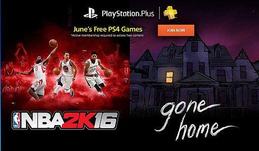 PS Plus: oferta darmowych gier na czerwiec