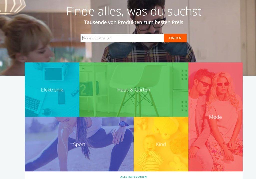 Allegro.de - nowy serwis