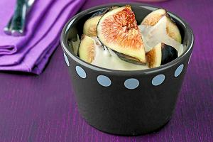Świeże figi z mascarpone
