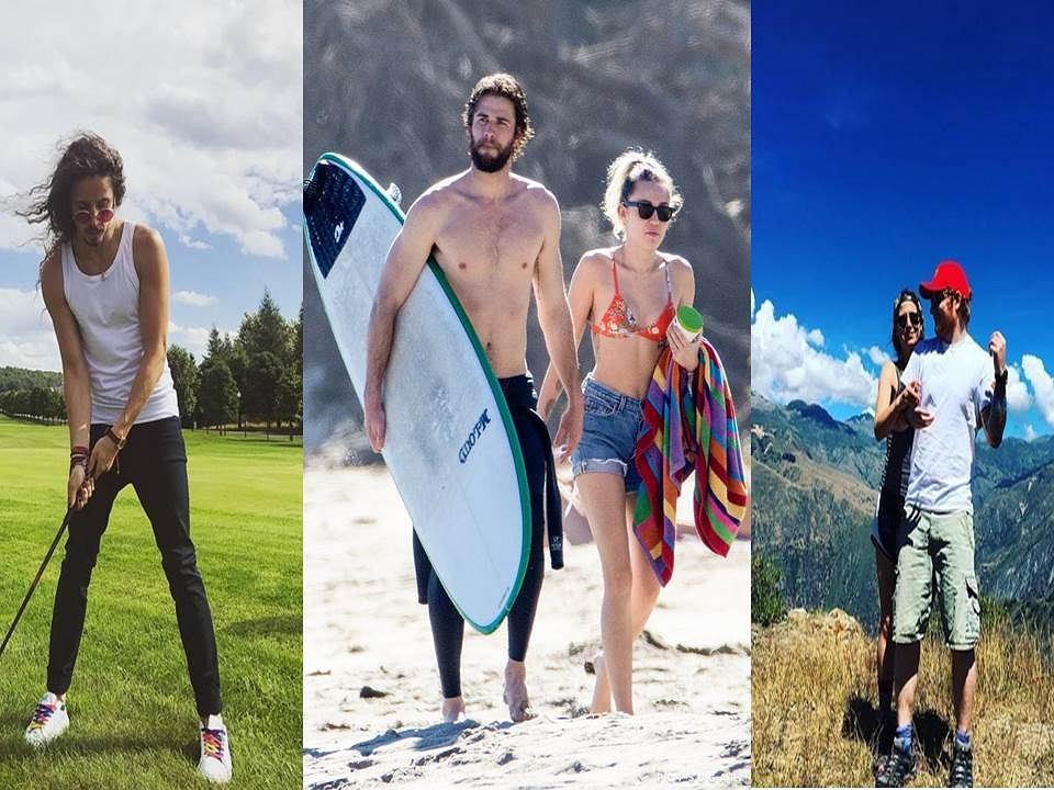 Jak wakacje spędzali celebryci?