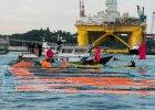 Protest Greenpeace w porcie w Seattle. Nie chc� platformy wiertniczej
