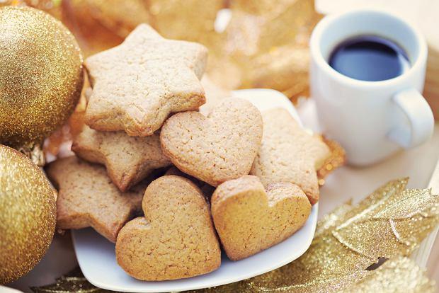Świąteczne ciasteczka gwiazdki