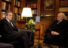 Premier Grecji Antonis Samaras i prezydent Karolos Papulias