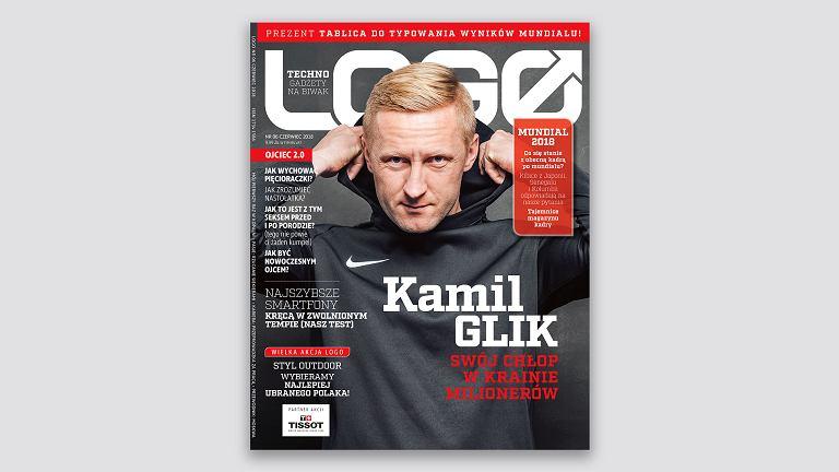 Kamil Glik bohaterem okładkowym czerwcowego LOGO