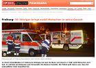 Policja aresztowa�a m�czyzn�, kt�ry w czwartek zabarykadowa� si� w barze w niemieckim Fryburgu