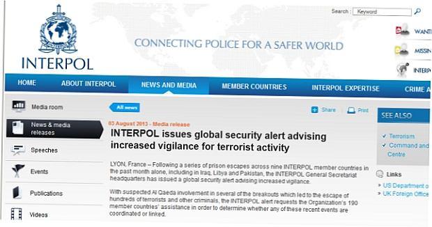 Seria ucieczek terroryst�w z wi�zienia. Interpol ostrzega kraje cz�onkowskie