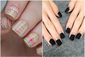 5 modnych wzorów, które sprawdzą się na krótkich i długich paznokciach