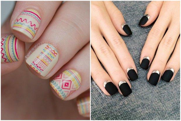 5 modnych wzor�w, kt�re sprawdz� si� na kr�tkich i d�ugich paznokciach