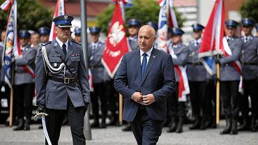 Wojewódzkie obchody święta policji w Stargardzie z udziałem szefa MSWiA Joachima Brudzińskiego