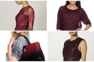 Marsala kolor roku 2015 - przegl�d naj�adniejszych ubra� i dodatk�w