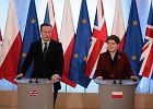 """David Cameron w Warszawie: """"Strategiczne partnerstwo między Wielką Brytanią a Polską"""""""