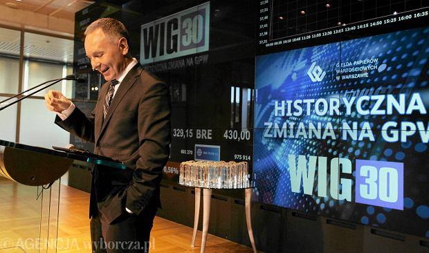 Indeksowa rewolucja na warszawskiej gie�dzie