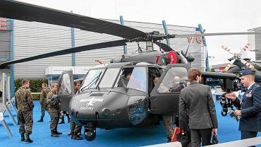 Black hawk w wersji uzbrojonej był prezentowany we wrześniu w Kielcach na Międzynarodowym Salonie Przemysłu Obronnego