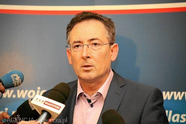 Minister spraw wewn�trznych Bart�omiej Sienkiewicz