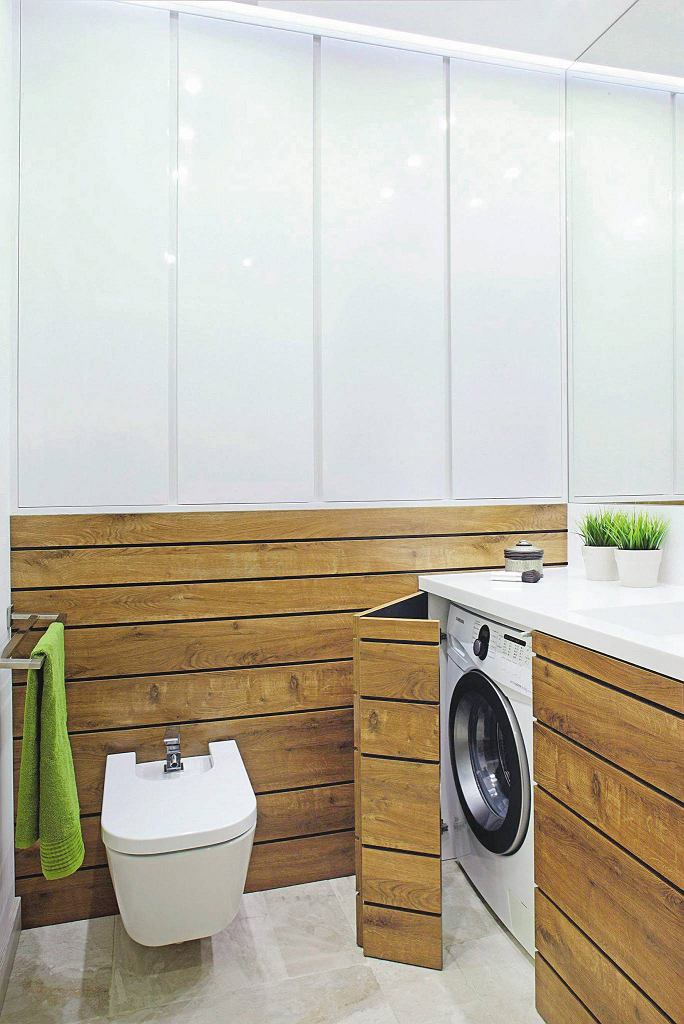 łazienka, pralka, schowki