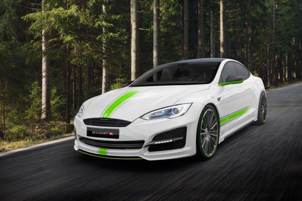Mansory Tesla Model S | Nieudane silniki