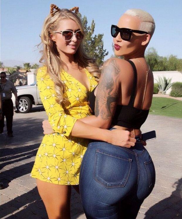 Paris Hilton i Amber Rose