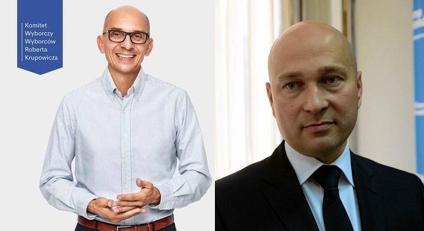 Robert Krupowicz i Rafał Zając