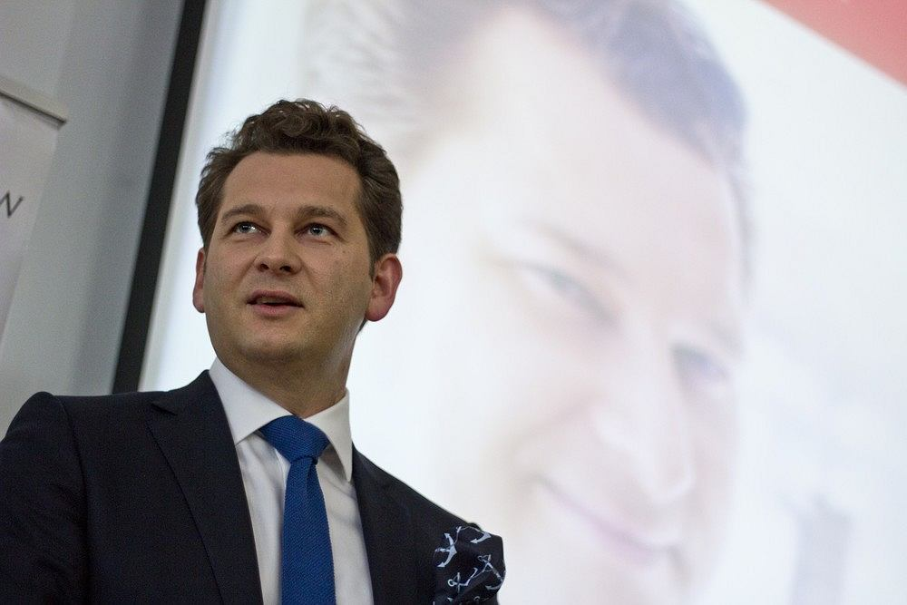 Michał Lisiecki, właściciel pism 'Wprost' i 'Do Rzeczy'