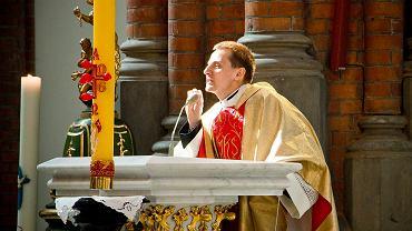 Ks. Jacek Międlar na mszy w intencji ONR w Białymstoku